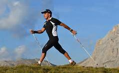 Pino Dellasega, International Coach di Nordic Walking della SINW